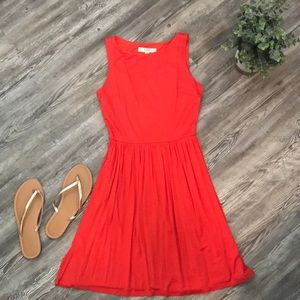 NWT Loft Summer dress with back cutout
